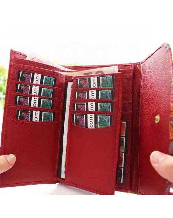 Billeteras con monedero para mujeres