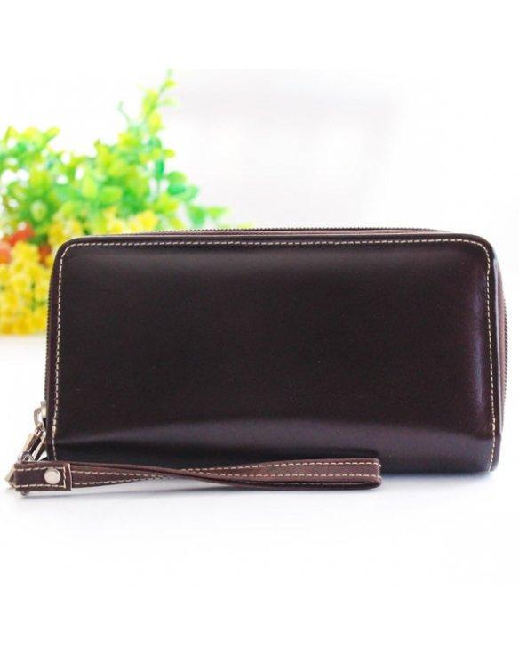 Billetera para mujer color marrón