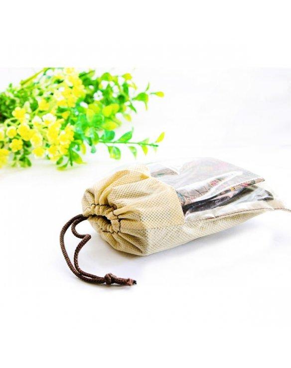 Billetera de piel con monedero para mujer