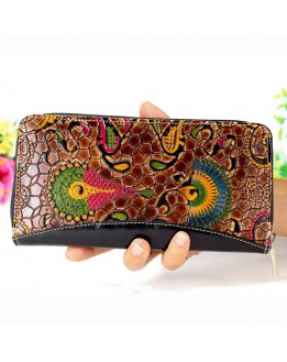 Wallet with coin purse for women