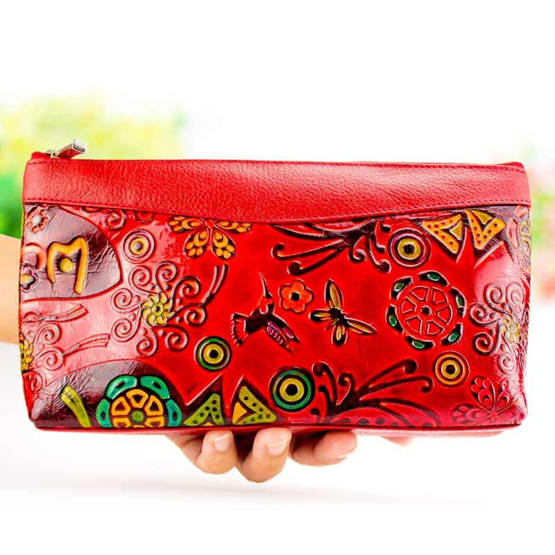 Red pouch case