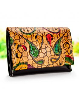 Leather purses, Small purse, clutch purse, high quality leather art