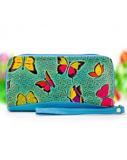 Designer wallets for womens with original and embossed pattern