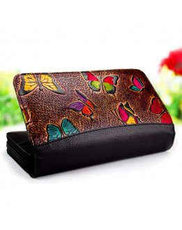 Black wallet for women