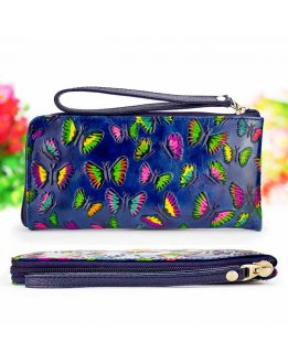 Wallet for women with zipper
