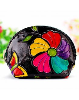 Womens Leather coin purse