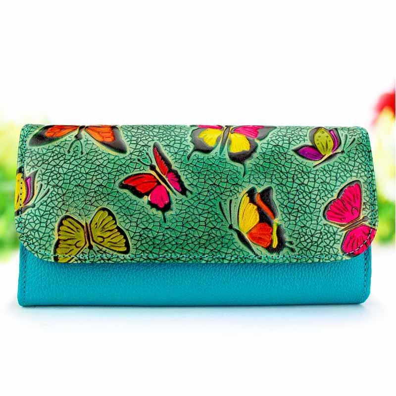 long wallet for women