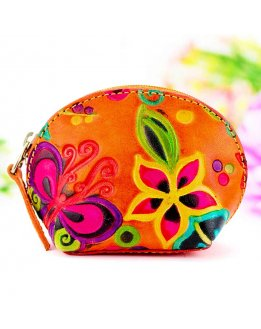 Woman coin pouch