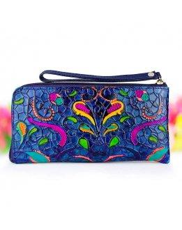 Zipper wallets for women